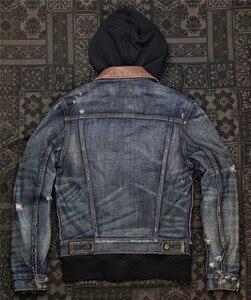 Image 2 - UGLYBROS UBJ 121 Vintage classic denim jacket motorcycle protection jacket motorcycle t shirt for men