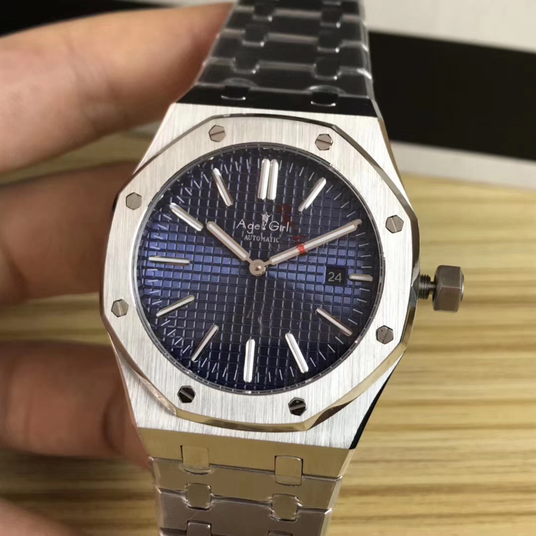 2019 Luxury Brand New Men Automatic Mechanical Watch Stainless Steel Silver Crystal Sapphire Glass Back See Through Watches AAA+