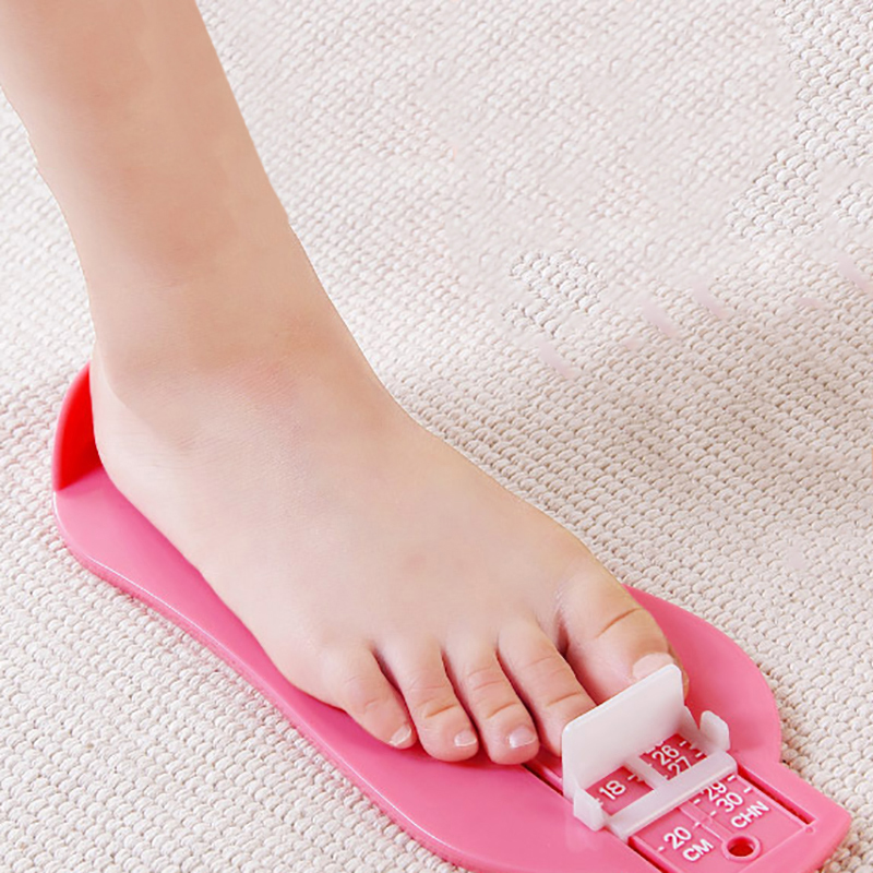 Kid Infant Foot Measure Gauge Shoes Size Professional Measuring Ruler Tool Available ABS Baby Car Adjustable Range 0-20cm 2020