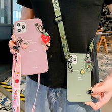 For iPhone XR Case Shoulder Strap Neckla