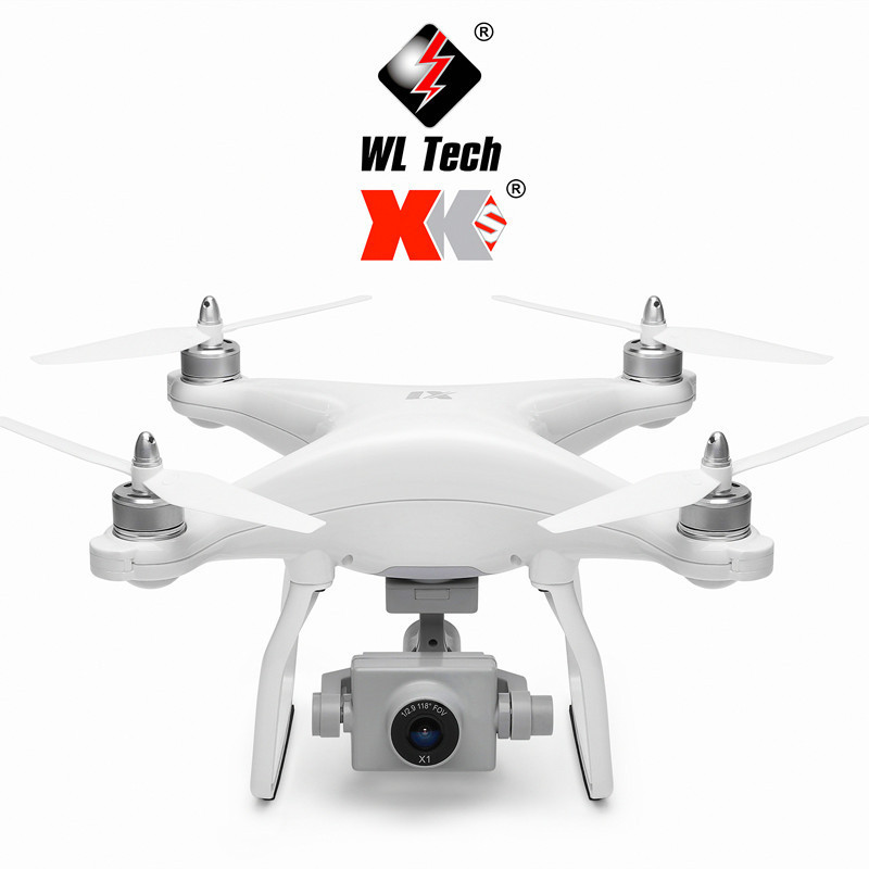 Brushless GPS Remote-controlled Unmanned Vehicle 5G High-definition Aerial Pass WiFi Quadcopter Weili X1 Aircraft Model
