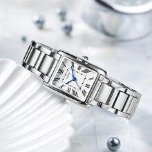 Fashion Simple Dress Watch Ladies Girls Waterproof Quartz Watch Trend Steel Band Student Small Watches