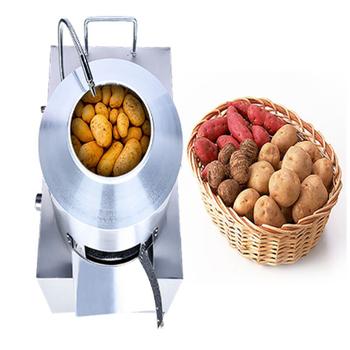 Lndustry obierak do ziemniaków mycie i obieraczka ziemniaków ze stali nierdzewnej tanie i dobre opinie XTMAU 1500w 220V CN (pochodzenie) STAINLESS STEEL 220v 50hz 120-250kg h 55kg 35cm 85*67*46cm