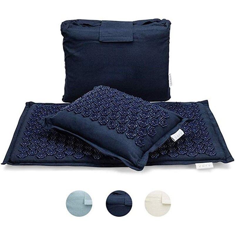Spike акупунктурный Массажный коврик для йоги/Подушка акупрессурный Массажер подушка для облегчения боли в спине Коврик для йоги Массажный коврик для йоги|Коврики для йоги|   | АлиЭкспресс