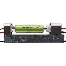 גבוהה הנוכחי BF 2A כפול נעילה עצמית CNC אלומיניום סגסוגת ארבעה חוט סוללה מחזיק 18650 סוללה מחזיק DIY סוללה