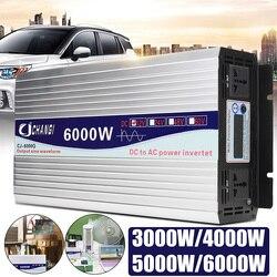 Inverter 12V 220V Intelligente Spannung transformator Reine Sinus Solar Power Inverter 12 V/24 V Zu 220V 3000 W/4000 W/5000 W/6000 W