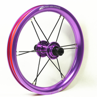 12 203 inch Aluminum Wheel Balance Bike Striders Bicycle KOKUA PUKY 95mm Purple Cheap Stock Walk Wheelset Push Bikes