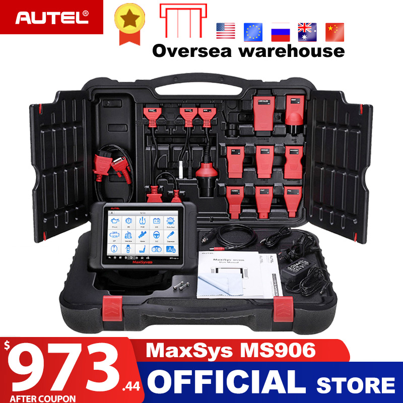 Autel Maxisys MS906 Automotive Diagnostic Scanner Scan Tool Code Reader Upgraded Version of DS708 and DS808