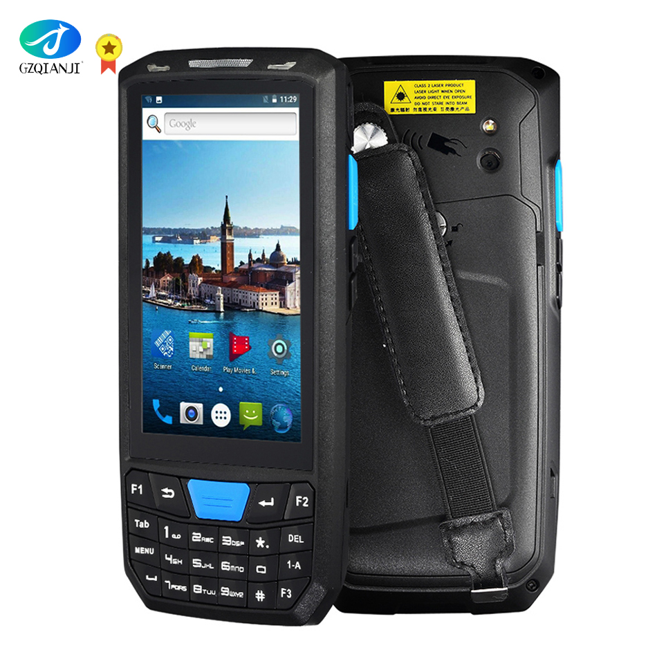 New Android 7 PDA Rugged Handheld Terminal Data Collector Terminal Wireless 1D 2D QR Laser Barcode