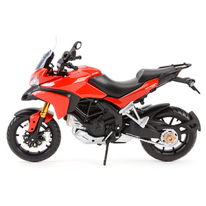 Image 4 - Maisto 1:12 Ducati Multistrada 1200S Red Die Cast Vehicles Collectible Hobbies Motorcycle Model Toys