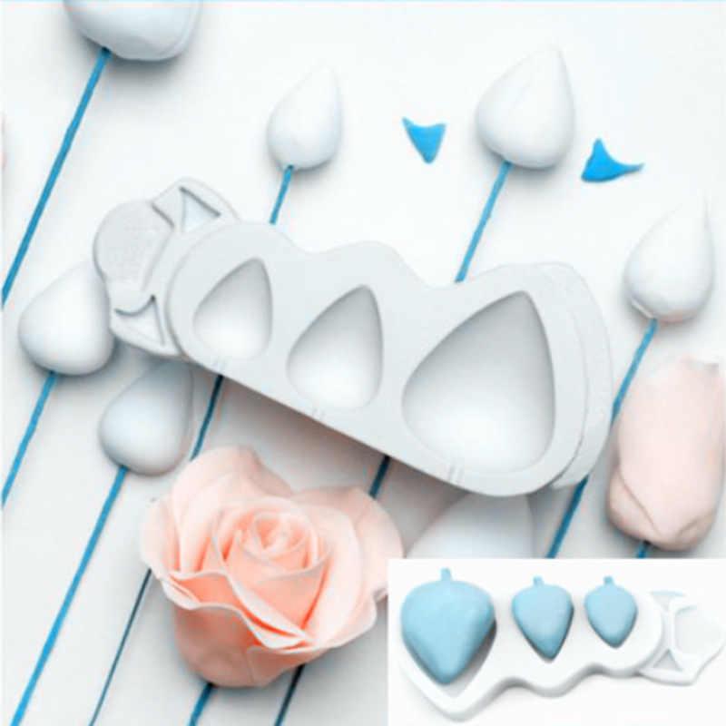 Rose Cones and Thorns Silicone Cake Mould Rosebud Shape Cake Fondant Decorat Nt