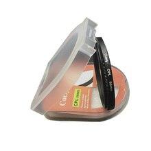 10pcs CPL Digital Filter 37 40.5 43 46 49 52 55 58 62 67 72 77 82mm lens Lens Protector for canon nikon DSLR SLR Camera with box