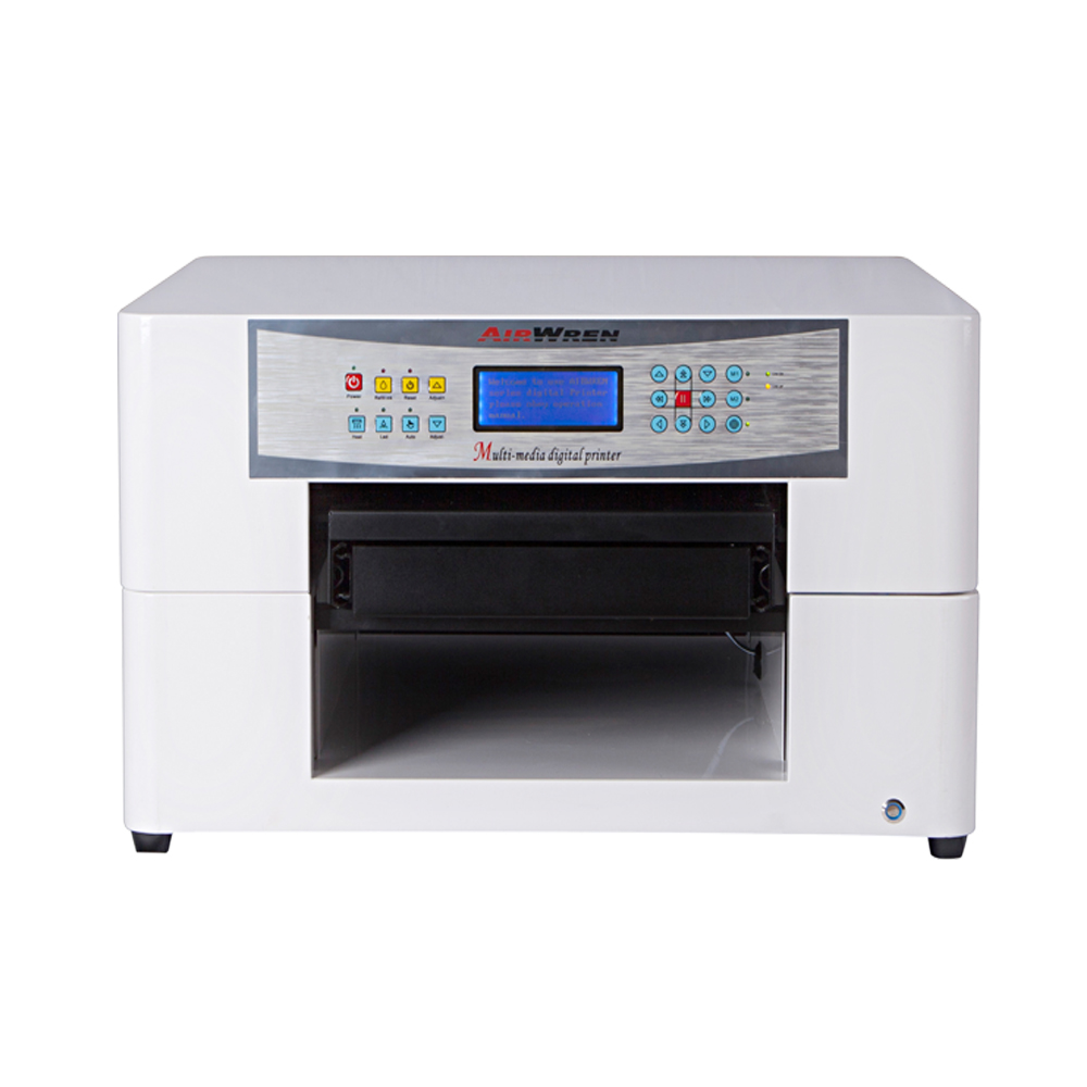 UV Flatbed Printer A3 Size For Mobile Case With High Speed