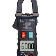 ZT-QB9 Clamp Meter DC/AC 600A current measurement TRMS Auto-Rang Voltage Ammeter Hz Ohm