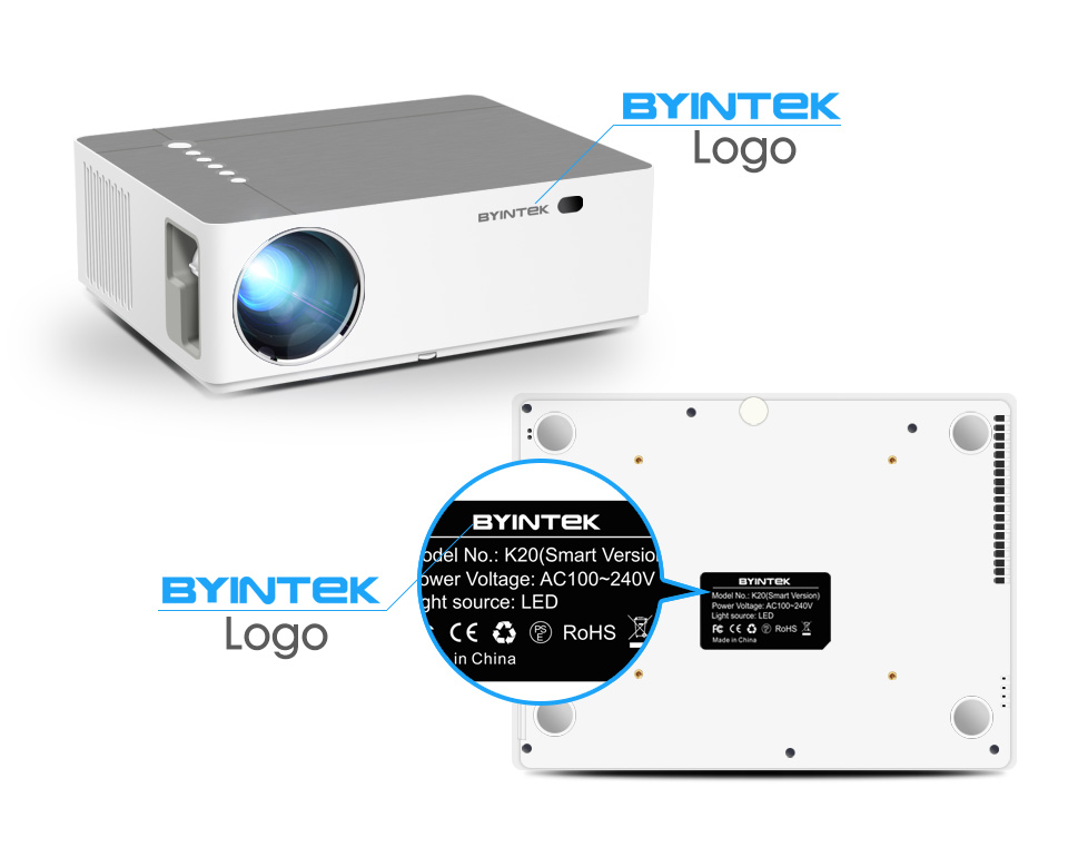 Projector-HD home theater projector for smartphone