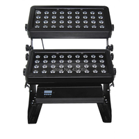 72 X 10W RGBW 4in1 or RGBWA 5in1 Quad color LED Wall Washer Lighting,Outdoor Indoor Used,Wash Spot light square project light