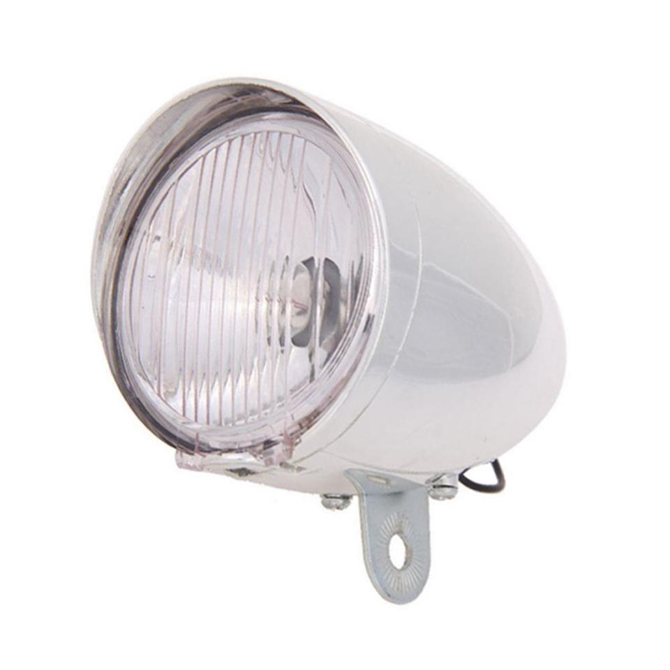 6V 3W Bicycle Bike Friction Generator Dynamo LED Headlight Front Rear light Kits
