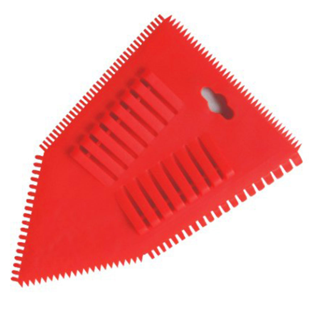 Construction Tool Handle DIY Wall Decoration Art Durable Multifunction Red Scraper Painting Plastic Roller Brush