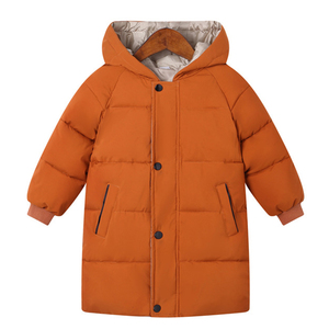 Boys Jackets Girls Winter Coats Children Jackets Baby Thick Long Coat Kids Warm Outerwear Hooded Coat Snowsuit Overcoat Clothes(China)