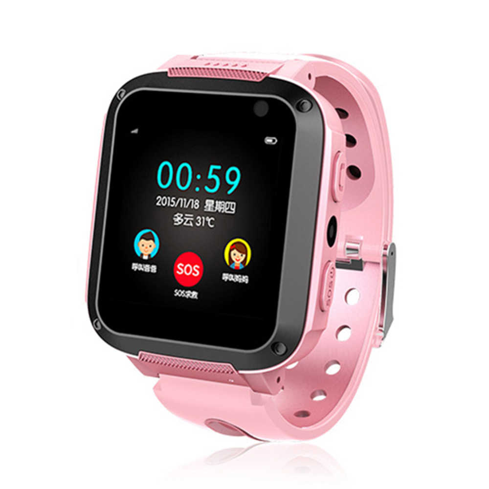 Kids Smart Watch Anti-Lost GPS Locator Alarm Waterproof Photography Call SOS phone call location device tracker Anti-lost childs