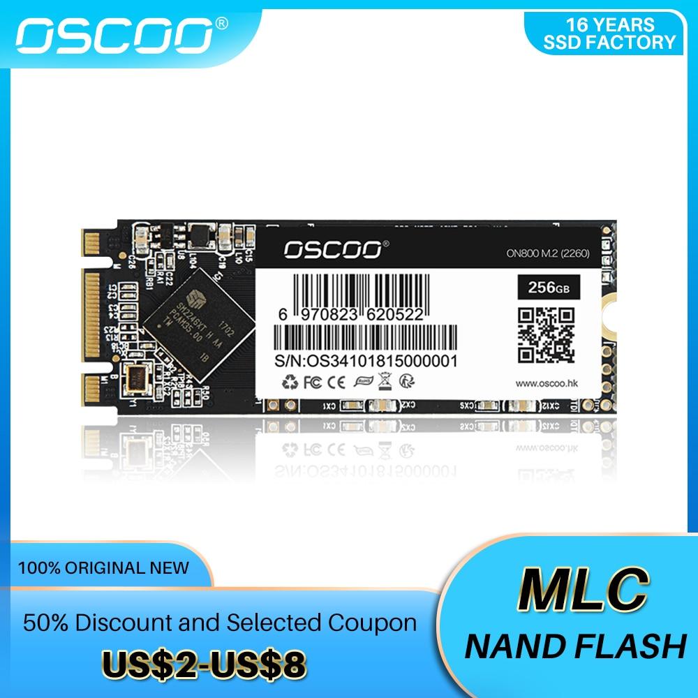 OSCOO M2 SATA SSD 128 ГБ 240 ГБ 256 ГБ HDD M.2 2260 HDD