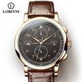 Механические Мужские часы SEAGULL  автоматические водонепроницаемые часы 50 м  мужские часы из натуральной кожи  деловые Модные мужские наручны...