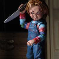 NECA GOOD GUYS chlucky muñeca de horror PVC figura coleccionable modelo de juguete 15cm