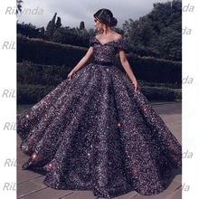 두바이 그린 레드 골드 블루 레이스 업 스팽글 댄스 파티 드레스 2020 Sweetheart Sexy Luxury Bridal Gowns