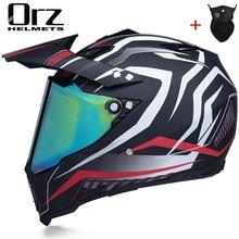 Off road motorcycle helmet with sunshield Moto Cross motocross helmet racing moto