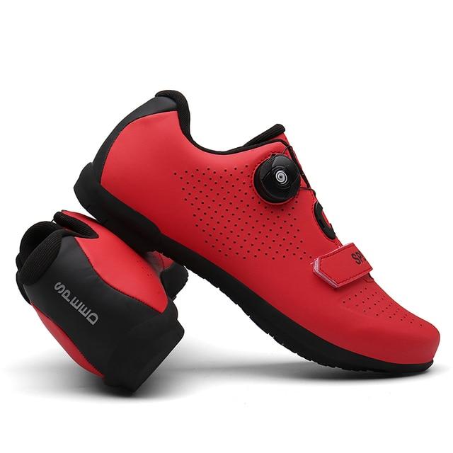 2020 mtb sapatos de ciclismo profissional anti-skid ao ar livre atlético de corrida sapatos de bicicleta não-bloqueio sapatos de ciclismo tênis homem 4