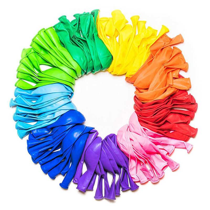 สีชมพูงานแต่งงาน 10Pcs Pearl LatexบอลลูนChromeบอลลูนMacaron Latexบอลลูนglobos Baby Shower PARTYตกแต่งบอลลูนอากาศ