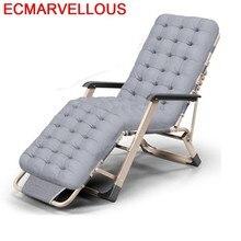 Silla Mobilya Fauteuil Salon Sofa Tumbona Playa krzesło krzesło Transat świeci na zewnątrz łóżko składane meble ogrodowe leżak