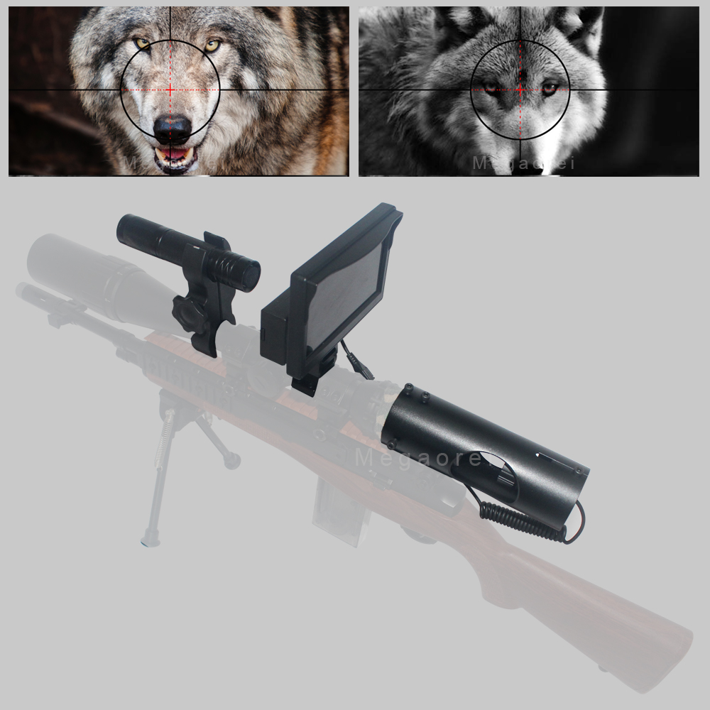 Hot Selling Outdoor Hunting optics Tactical digital Laser Sight Infrared night vision use in day and night