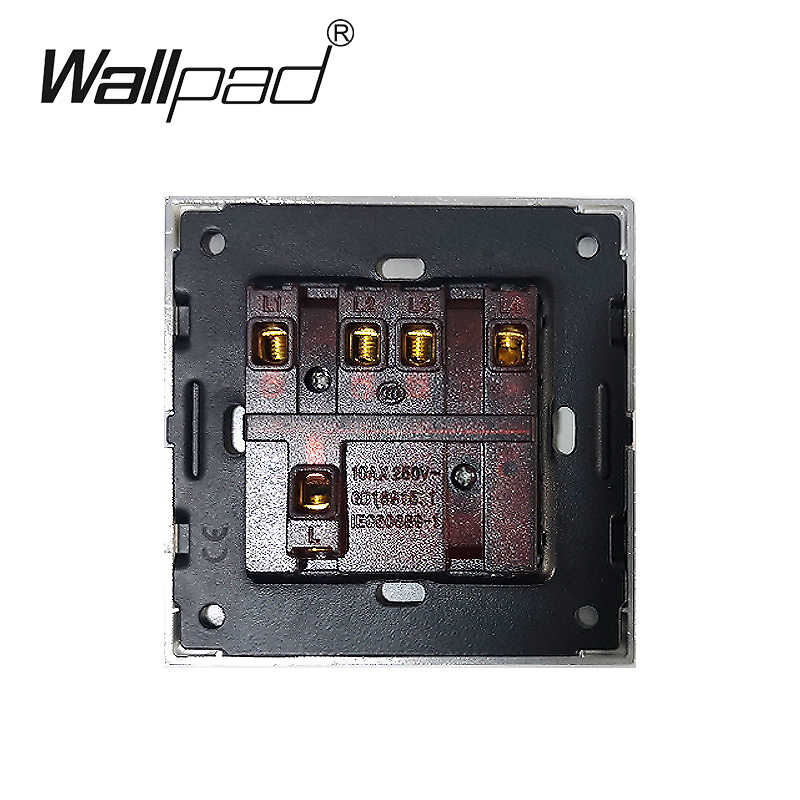 4 Gang 1 Way Reset Light Switches Wallpad Luxury Push