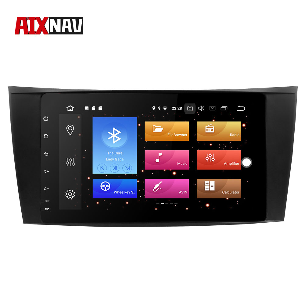 GPS Navigator <font><b>Car</b></font> <font><b>Radio</b></font> <font><b>Car</b></font> DVD Player <font><b>Android</b></font> 8.0 DVR Recorder Monitor For Mercedes Benz 8 Core <font><b>RAM</b></font> <font><b>4GB</b></font> DSP Auto <font><b>Radio</b></font> <font><b>1</b></font> <font><b>Din</b></font> FM image