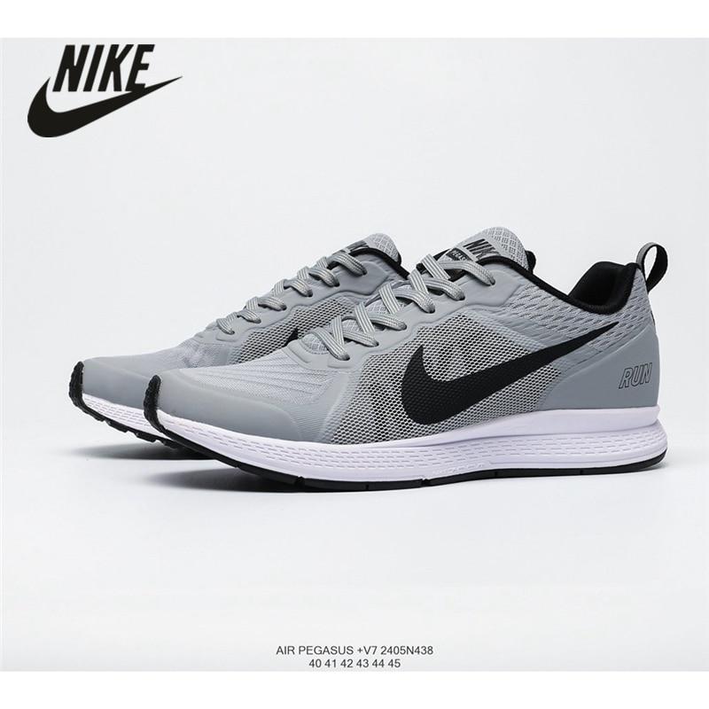 Puede ser ignorado Heredero falda  NIKE Air Zoom Pegasus 17 mesh breathable running shoes men's sports shoes  size 40 45 Running Shoes  - AliExpress