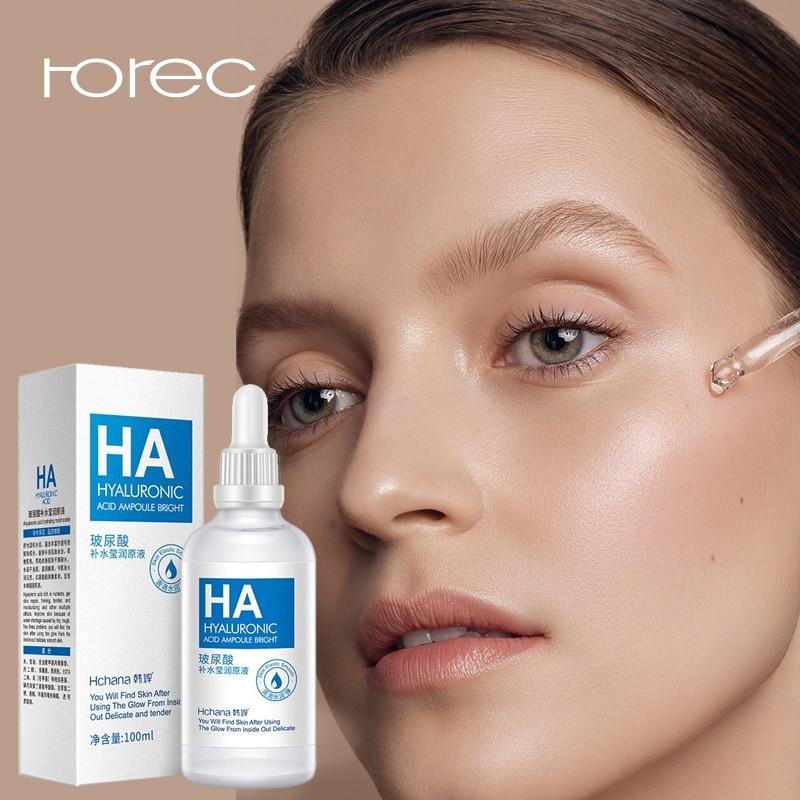 ROREC HA Hyaluronic Acid Liquid Skin Care Anti Wrinkle Amoule Bright Essence Face Care Whitening Moisturizing Oil Serum