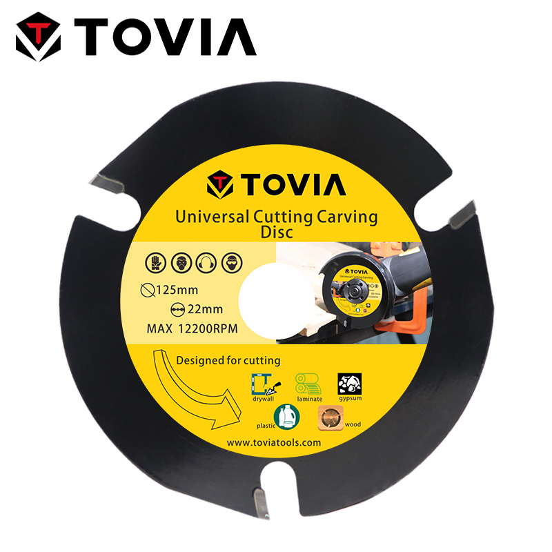 TOVIA Carbide Circular Saw Blades 125mm Cutting Wood Saw Disc For Angle Grinder Wood Cutter Disc