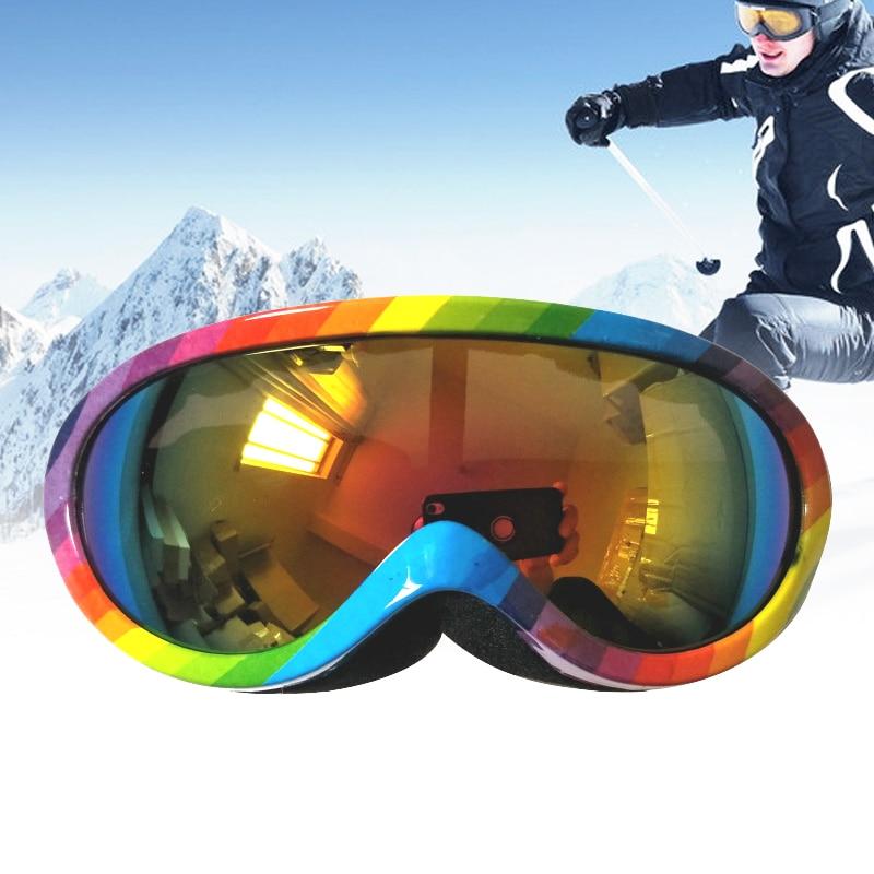 Vertvie Children Ski Goggles High Quality Boys Girls Snow Snowboard Mask Multicolor Winter Kids Skiing Glasses Outdoor Goggles