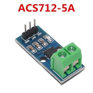 Image 2 - 10Pcs 5A 20A 30A Hal Huidige Sensor Module ACS712 Module Voor Arduino ACS712TELC  5A/20A/30A