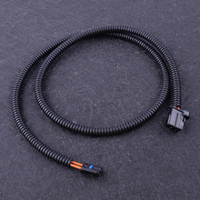 DWCX POF la plupart des 6WA 6WB câble à fibres optiques de modification mâle à mâle connecteur LWL Stift 100cm adapté pour BMW F20 F30 Porsche