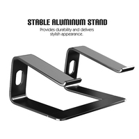 Portable Tablet Holder Stand Aluminum Laptop Stand Notebook Bracket Holders For MacBook Pro Air Lenovo Dell HP Desktop Stand
