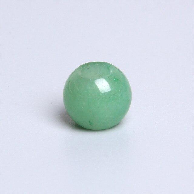 Natural Green Dalmation Jasper European Handmade Faceted Long Barrel Shape Big Hole Beads 10x18mm 5 Piece-5mm Hole