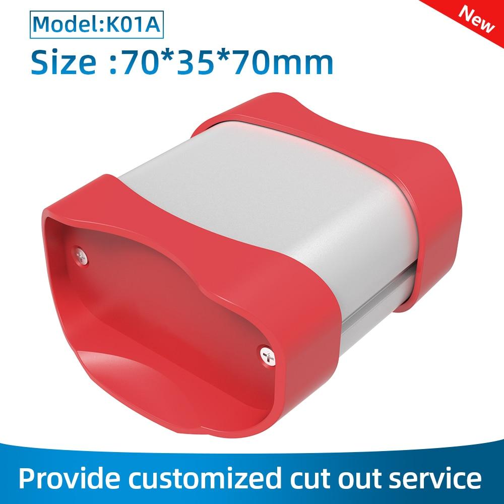 Abs лучший дизайн корпуса пользовательского питания прочный универсальный модуль питания электронный корпус K01A 70*35 мм