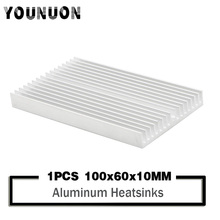 Heatsink 100x60x10mm Power Amplifier Aluminum Heat sink Radiator Module Special for Cooling