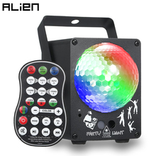 ALIEN Remote 60 Patterns DJ Disco LED Crystal Magic Ball Laser Stage Lighting Effect Party Holiday Dance Christmas Wedding Light
