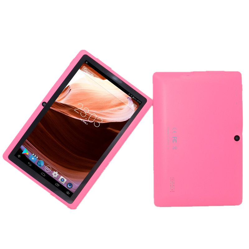 Glavey Q88 PRO 7 Inch Android Tablet PC Allwinner A33 5128GB Google Play Android 4.4 Quad Core Wifi Bluetooth Good For Kids