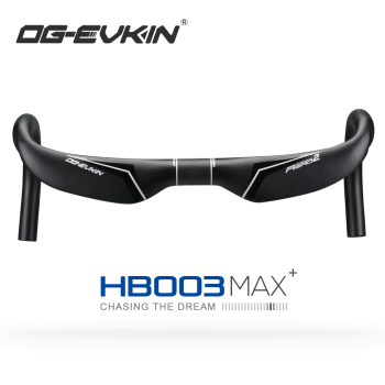OG-EVKIN HB-003 AERO Carbon Fibre Handlebar 31.8MM 420/440/460MM Road Bike Bent Bar Carbon Road  Handle Bar Bicycle Parts Racing 2017 newest qilefu road bike racing ud full carbon fibre bicycle handlebar internal cable 31 8 400 420 440mm parts free shipping