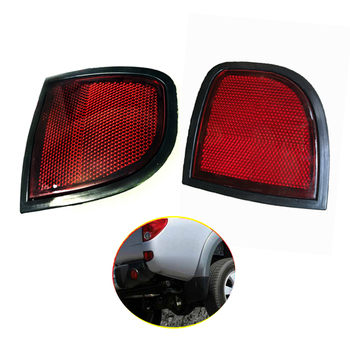 цена на Rear Bumper Reflector light For Mitsubishi L200 LC036LH Rear Tail Brake Light Tail Stop turn signal Lamp Car Parts Accessories