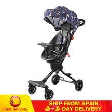 Baby Stroller High Landscape Folding Light Weight Portable Travel Pram Children Pushchair Newborn Baby Car Carriage Kids Trolley